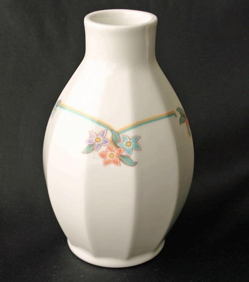 villeroy boch como mutli sided floral ribbon bud vase ebay. Black Bedroom Furniture Sets. Home Design Ideas