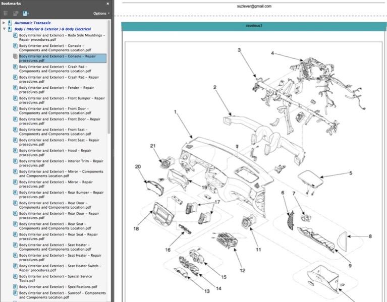 kia rio workshop manual pdf