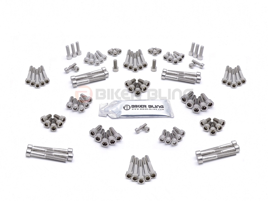 bmw s1000rr k46 2008 stainless steel motorcycle engine casing cover bolts screws