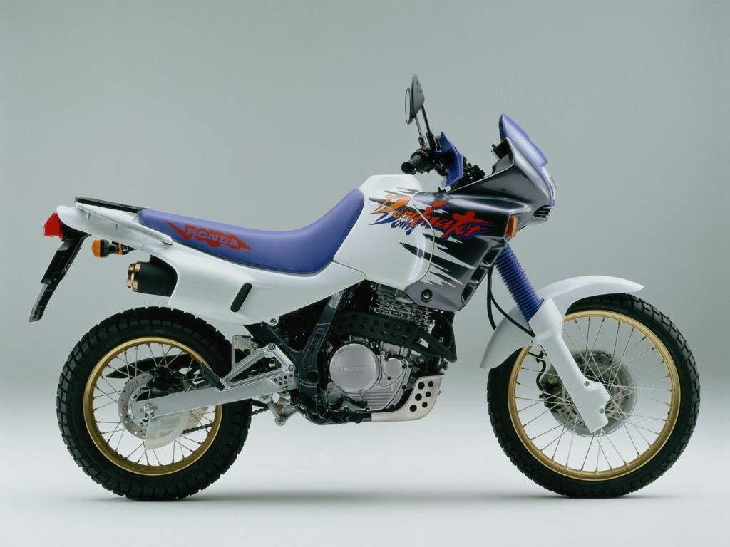 Honda NX650 Dominator 1988-2002 stainless steel rear brake reservoir cap bolts