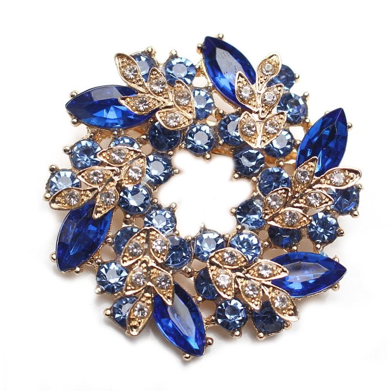 glamouroese-BROSCHE-Anstecknadel-XL-Bluete-Strass-Bluete-Farb-Wahl-D-5-2cm