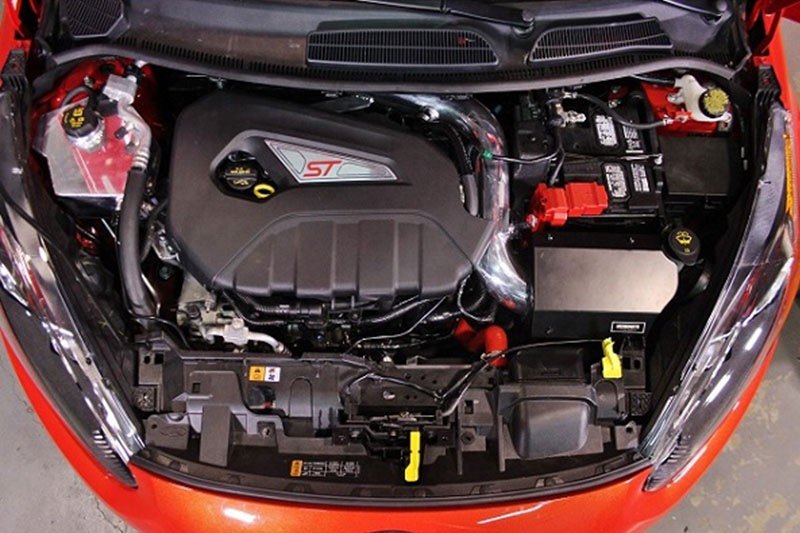 Ford Fiesta ST, 2016+ Wrinkle Red Mishimoto MMAI-FIST-16WRD Performance Air Intake