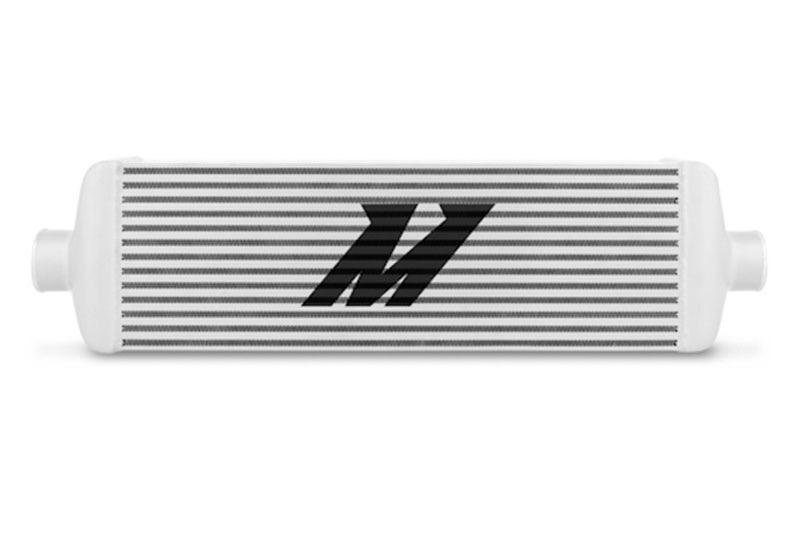 Silver Mishimoto UNIVERSAL Race Edition Intercooler J-Line # MMINT-UJ FMIC