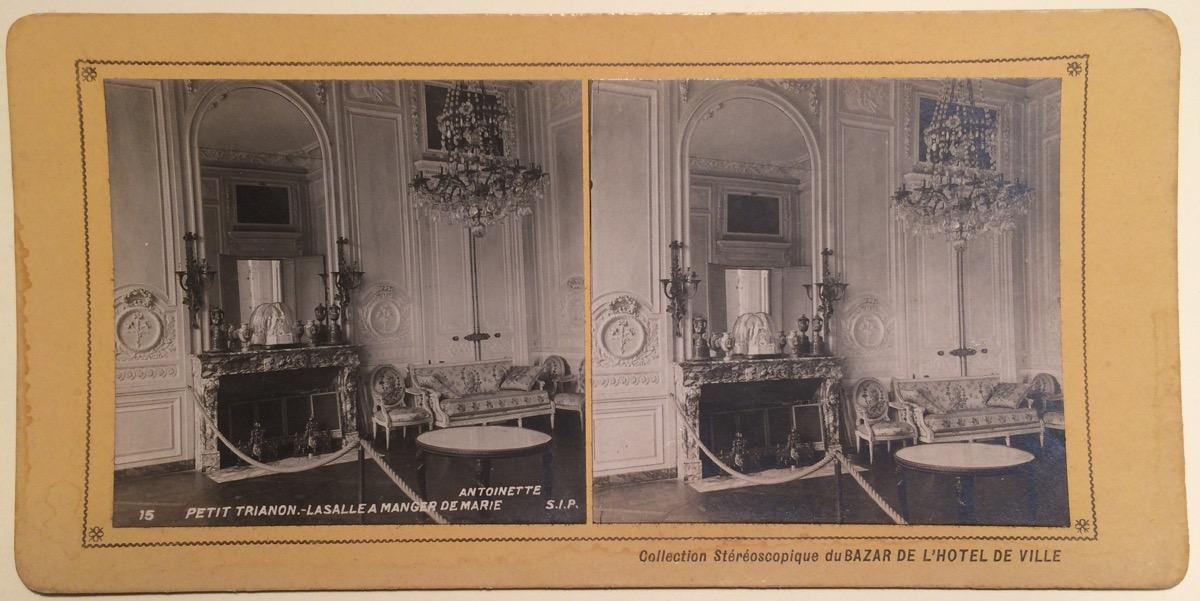 Petit Trianon Versailles Salle à Manger De Marie Antoinette Photo