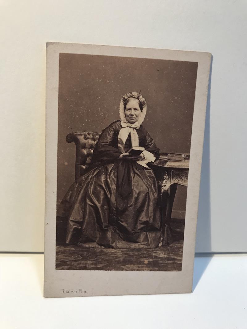 Femme Second Empire Photo Disdri Paris Cdv Carte De Visite Vintage Albumine
