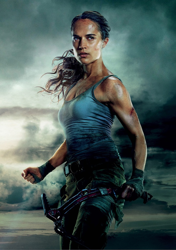 Tomb Raider Movie Photo Print Poster Film Art Alicia Vikander Lara