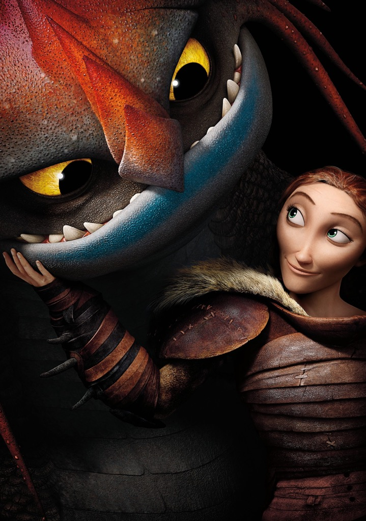 A4 A3 Movie Poster Print How to Train Your Dragon 2