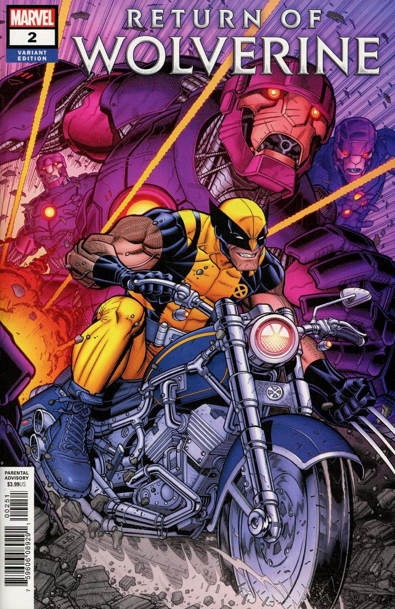 Return of Wolverine # 4 Cover A NM Marvel