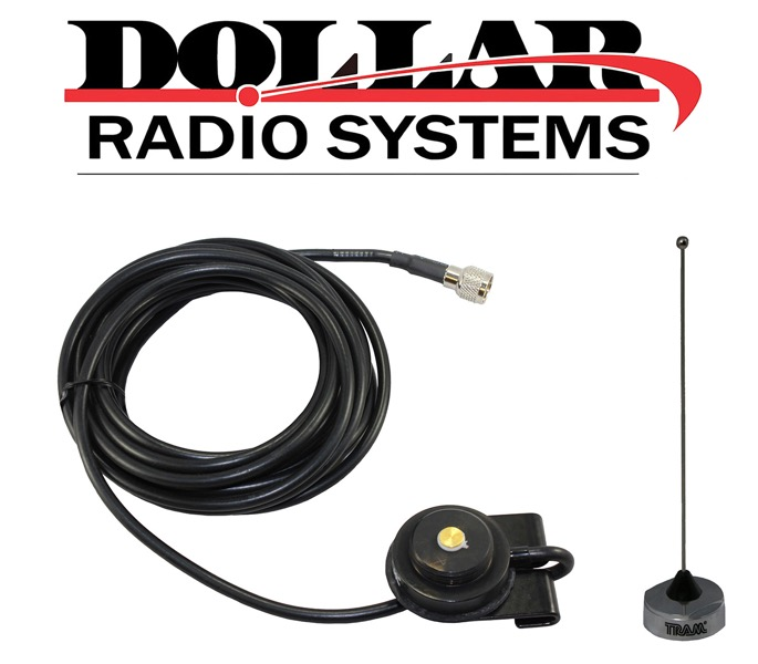 Black Magnet Base NMO UHF VHF Antenna Base MUHF GTX900 M120 XTL Motorola Mobiles