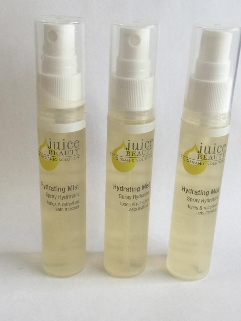 2X Juice Beauty Organic Solution Hydrating Mist 1oz ea ...